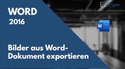 Bilder aus Word exportieren