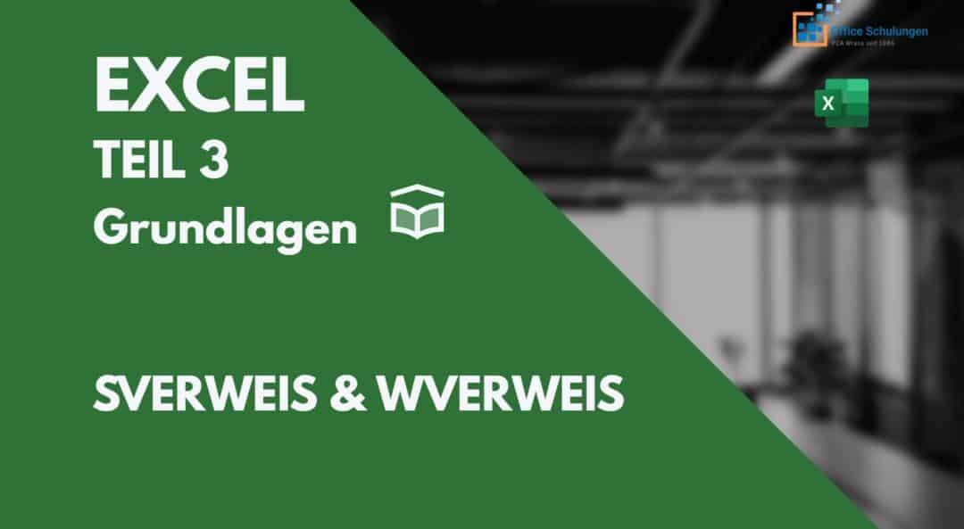 Excel SVERWEIS WVERWEIS