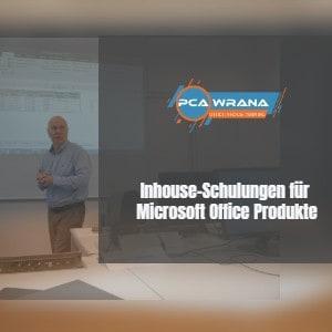inhouseschulungen microsoft office produkte