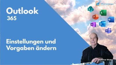 Outlook 365 Einstellungen in der Cloud