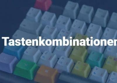 Tastenkombinationen