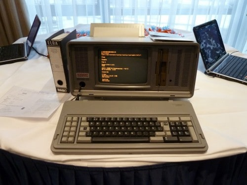 IBM laptop 1986
