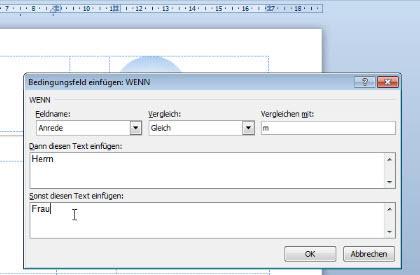 Word Serienbrief Erstellen Mit Personalisierter Anrede Office