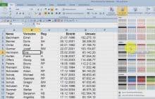 dynamische tabelle erzeugen